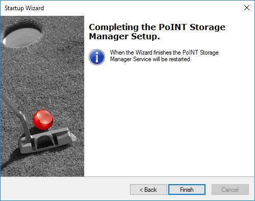 PoINT Storage Manager Upgrade (Screenshot)